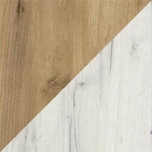 Dąb craft złoty (struktura) / dąb craft biały (struktura)