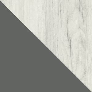 Dąb craft biały (struktura) / grafit
