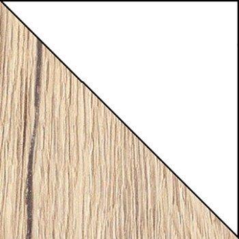 San remo jasne (struktura) / biały połysk