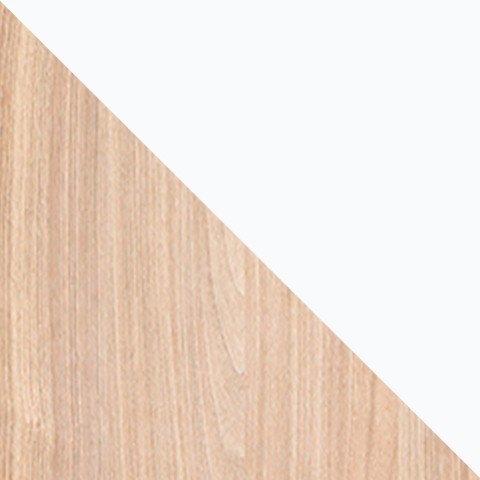 Orzech select (struktura) / biały brylantowy