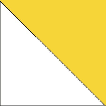 biały lux + żółty