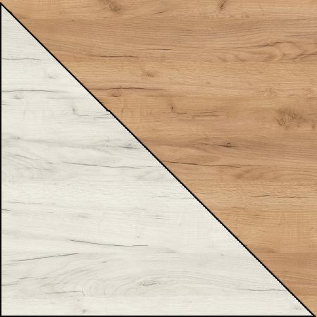 craft biały (struktura) + craft złoty (struktura)