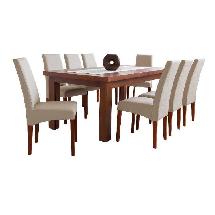 BORYS + krzesło S-50 x 6 szt zestaw stołowy