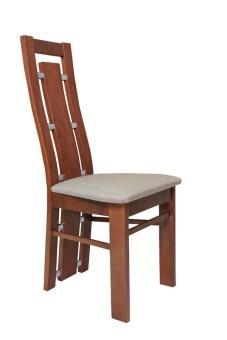 Zestaw ANDRZEJ okleina naturalna + krzesło S-47 x 4 szt