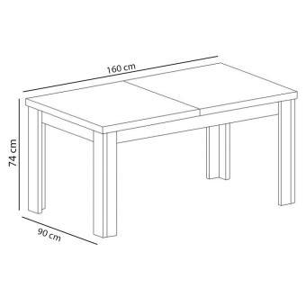 Stół duży KORA