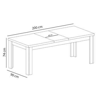 Stół duży PARIS