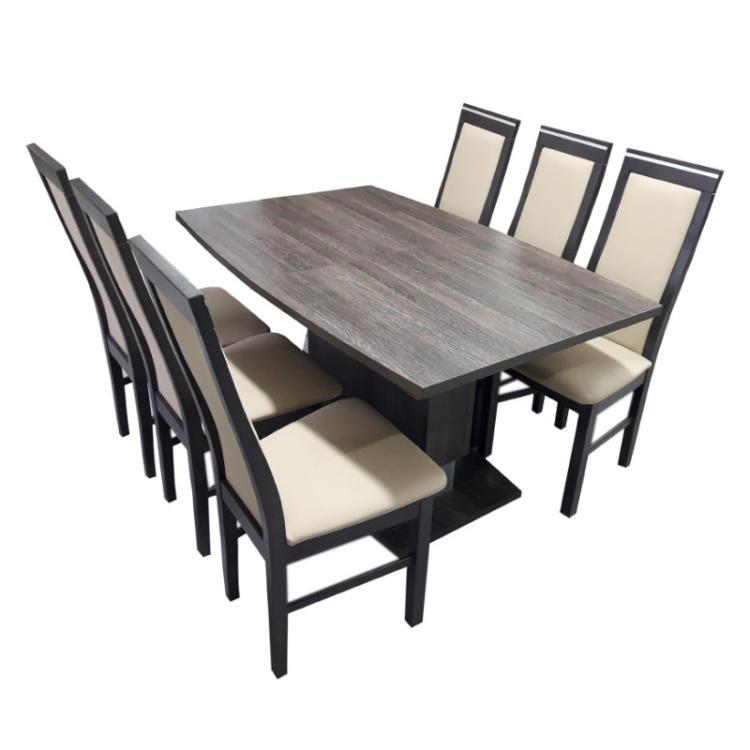 Zestaw stołowy ST2R + krzesła KR5